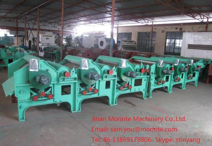 Yarn waste recycling machine for open end spinning
