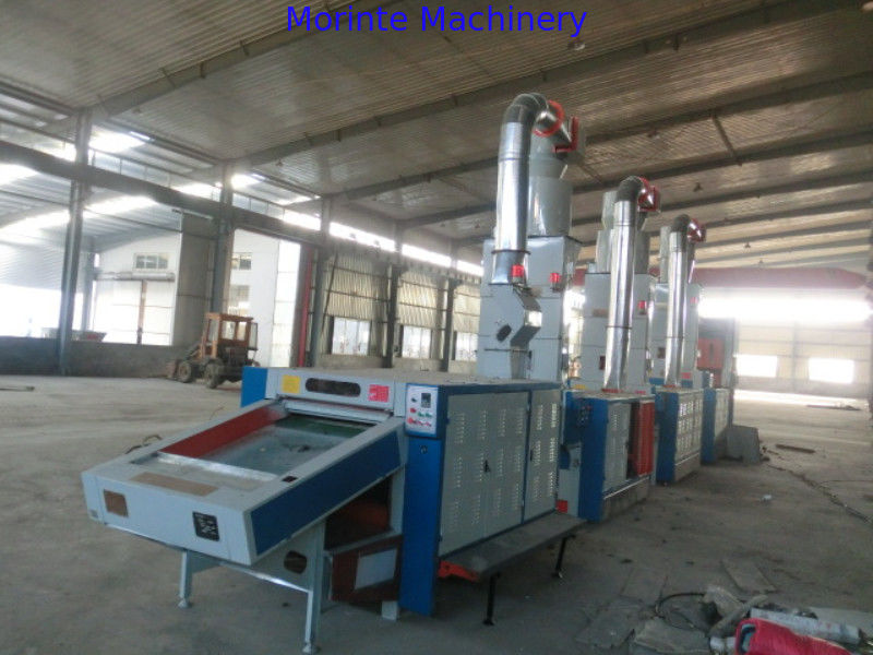 Waste clothes fabric recycling machine for car interior