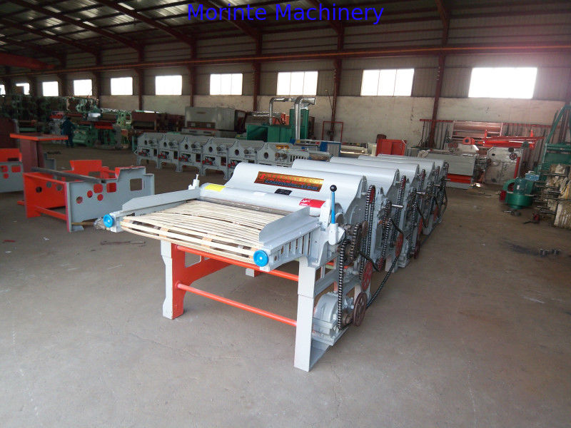Six rollers jute recycling machine