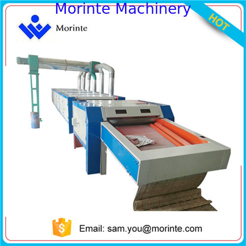 2017 type cotton fabric waste clothes recycling machine tearing line for spinning