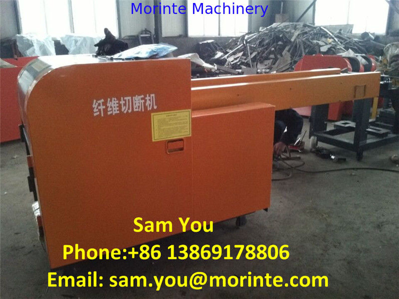 Strapping / plastic rope / leather / denim cutting machine