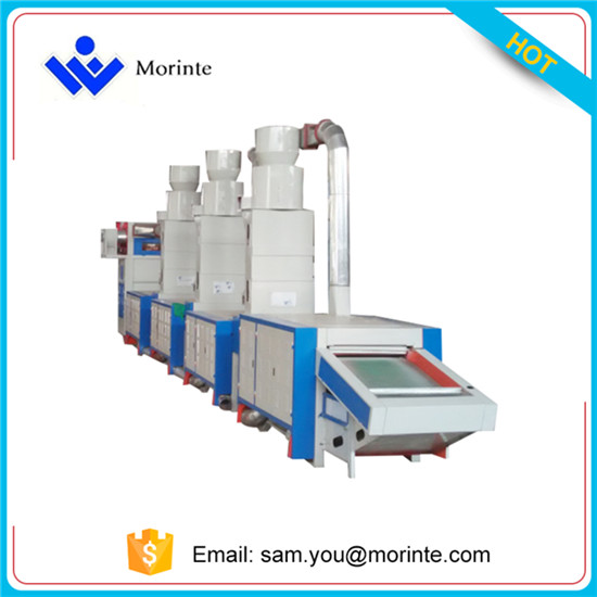 XWKS1000-4T Garment waste recycling machine for quilt felt car roofs