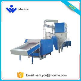 China Nylon carpet recycling machien for plastic granules distributor