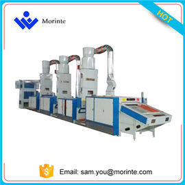 China Waste garment recycling machine for needle punching felt making distributor