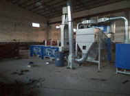 Carpet waste recycling machine Nylon Polyester Polypropylene material for granule and pellet making