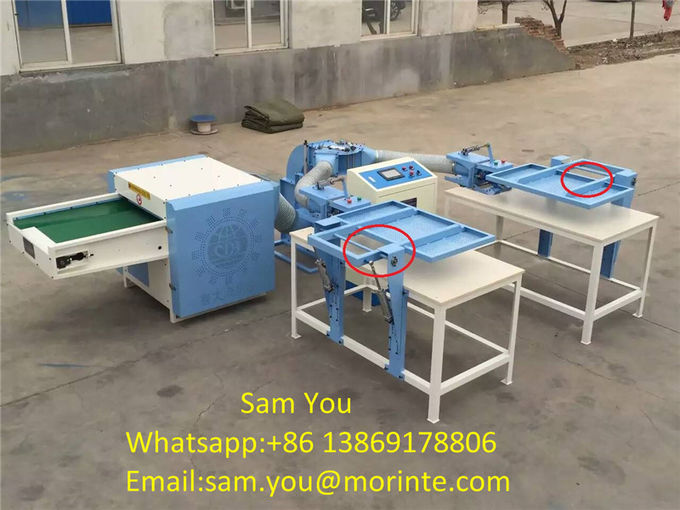 Polyester opening machine pillow filling machine with auto loosen part high capacity