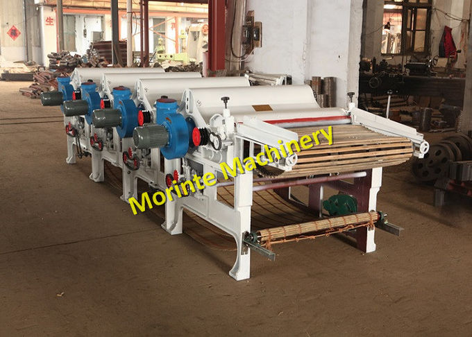 5 rollers cotton waste recycling machine garment waste tearing machine for felt making